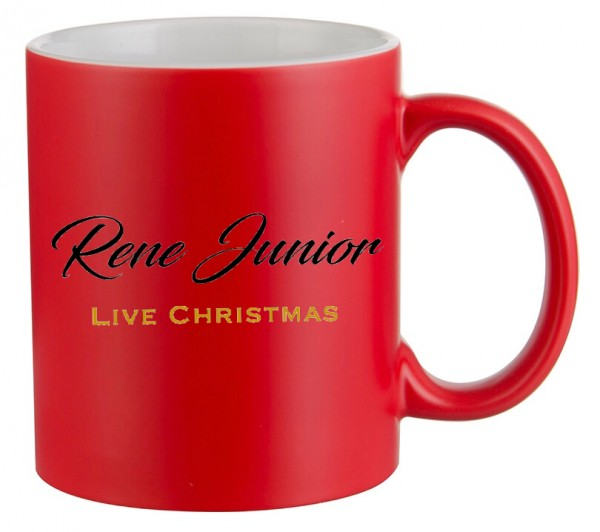 Rene Junior - LIVE Christmas flash disk + hrnek + šála
